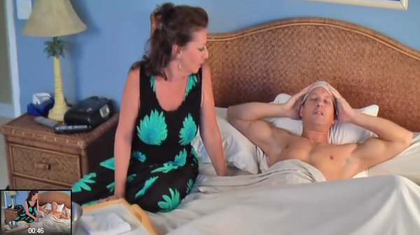 Mature mother restored health to sick son blowjob фото